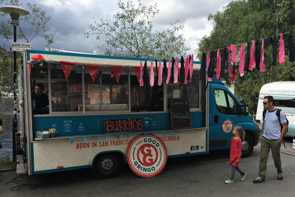 food trucks in Sodermalm
