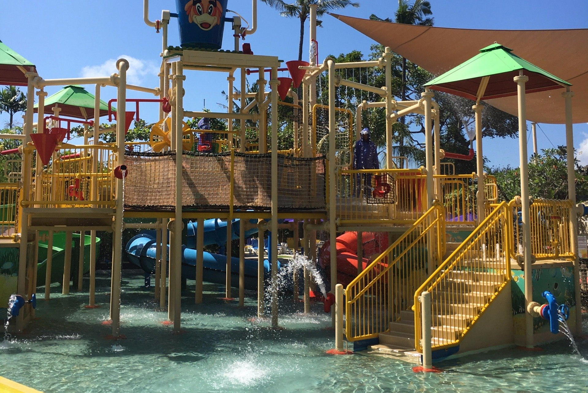 Waterbom Adventure Park - fun activities for families in Bali.