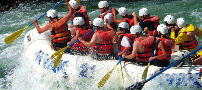 The Best Places in China for White Water Rafting