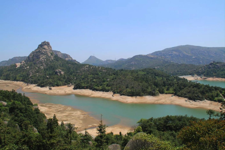 Nanxi River in Wenzhou, Zhejiang. Rafting near Shanghai