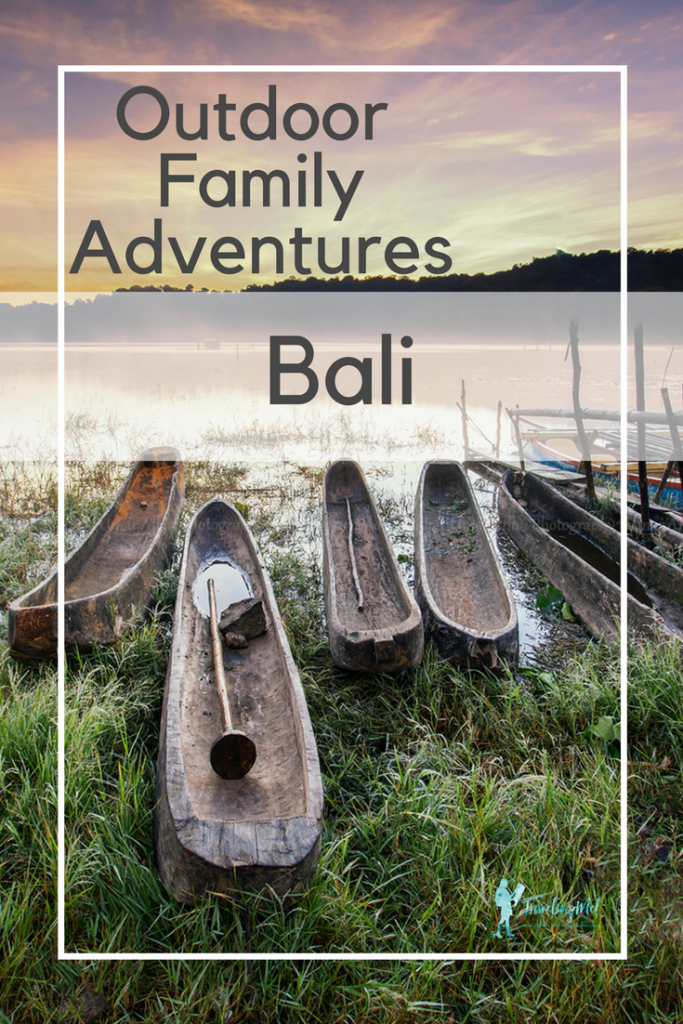 Outdoor adventures to do with kids in Bali, Indonesia.