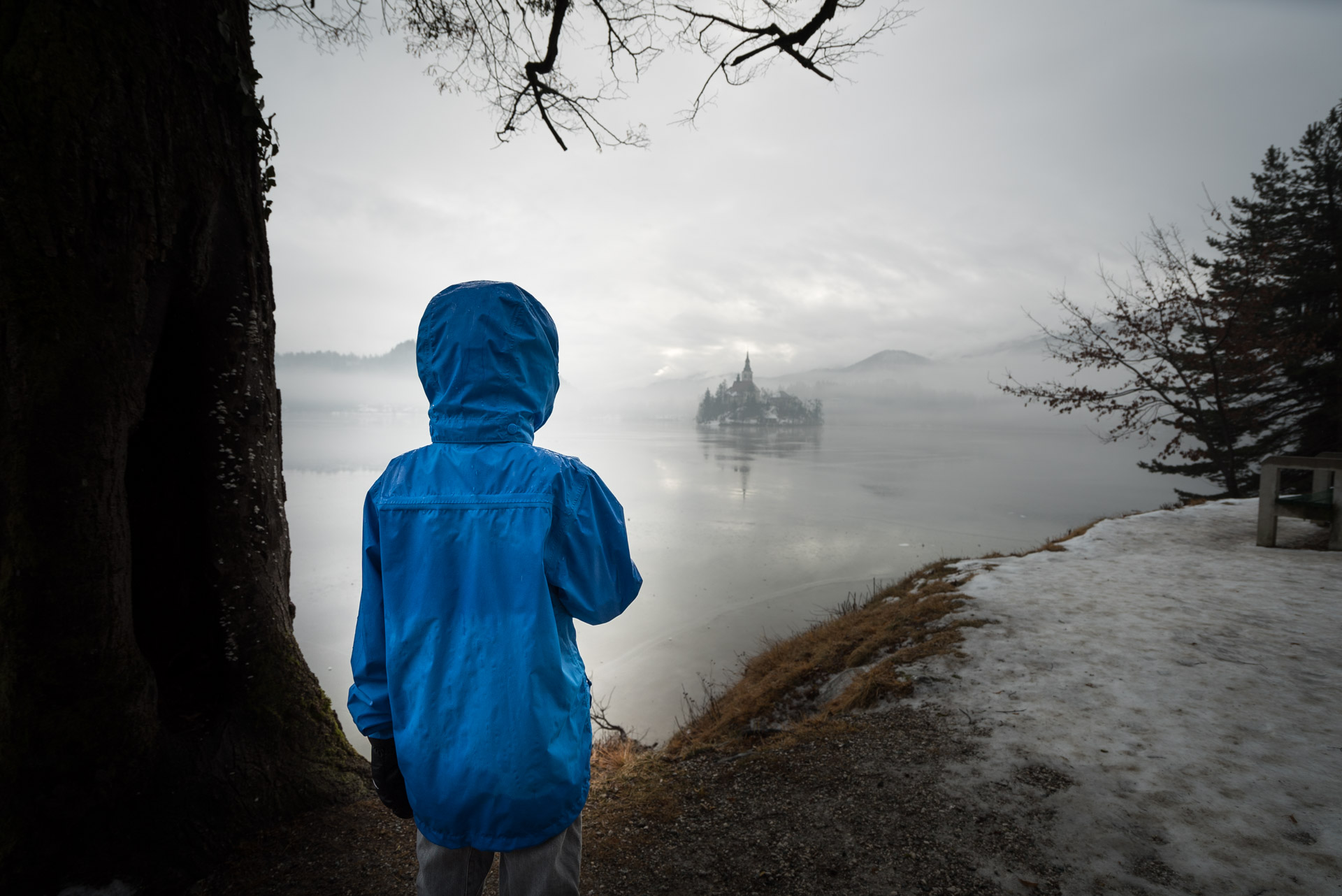 things to do in slovenia in winter includes a visit to lake bled