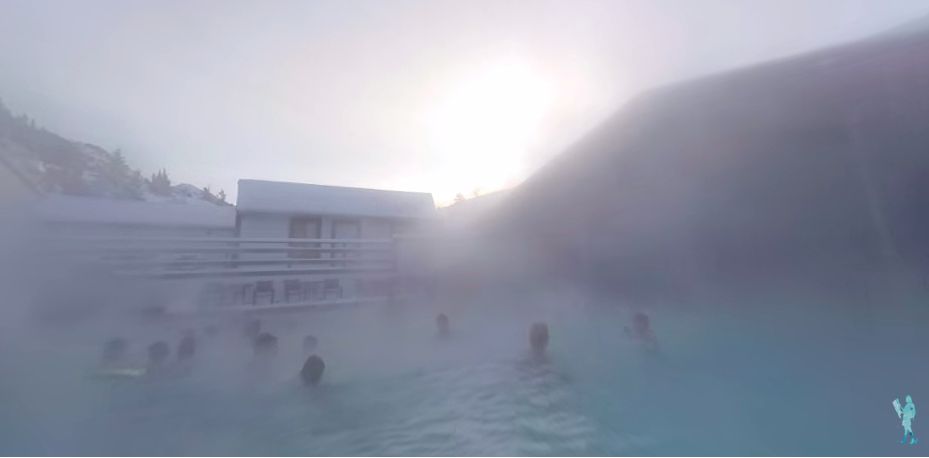 chico hot springs in the fog is one of the best hot springs in montana
