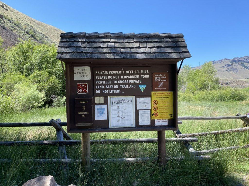 Goldbug Hot Springs near Salmon Idao