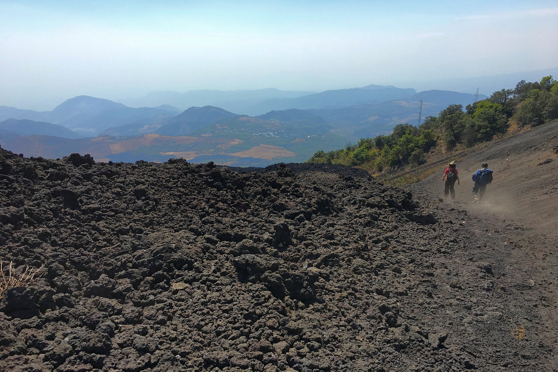 Easy volcano hike in Antigua