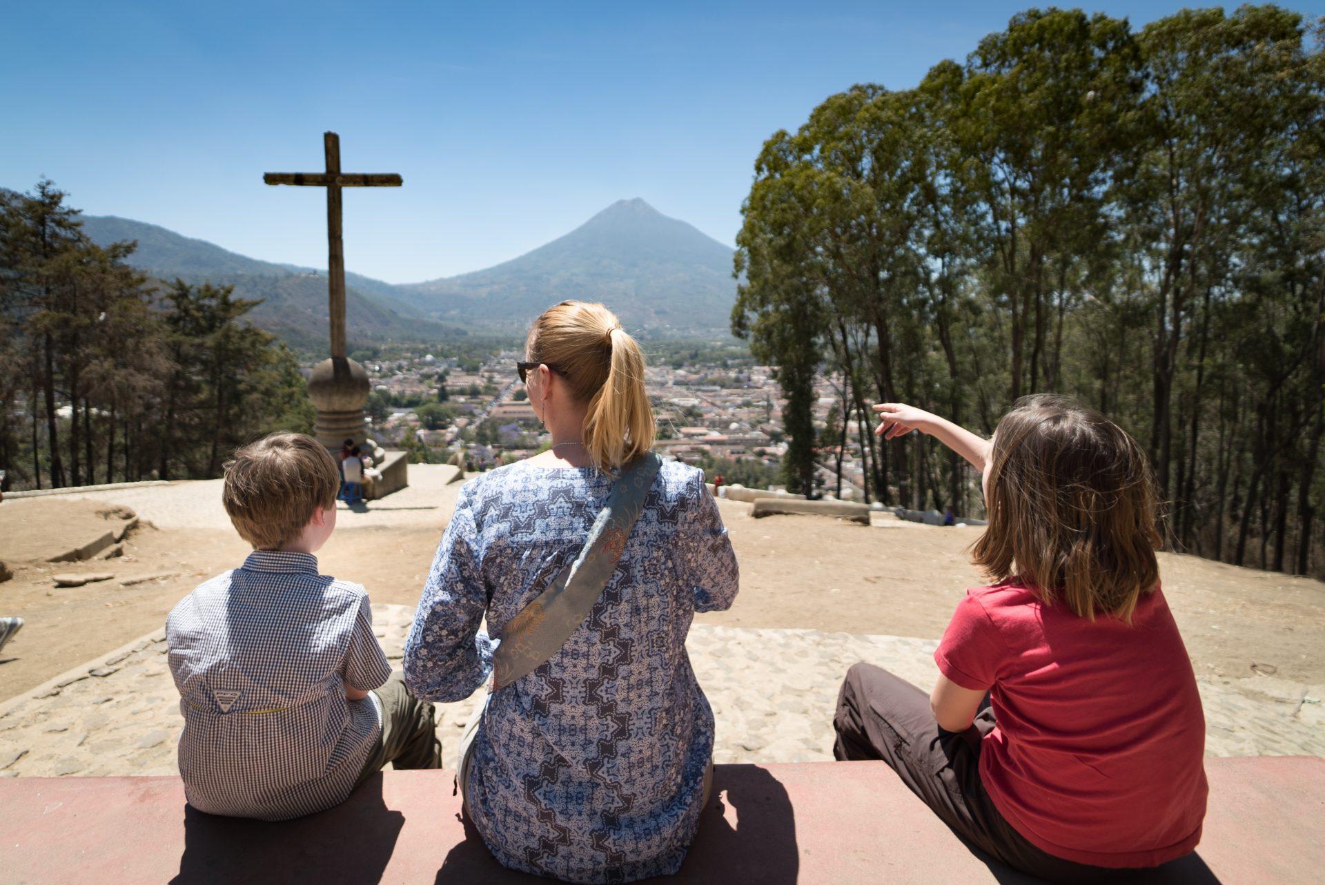 Volcan de Agua Guatemala from Antigua