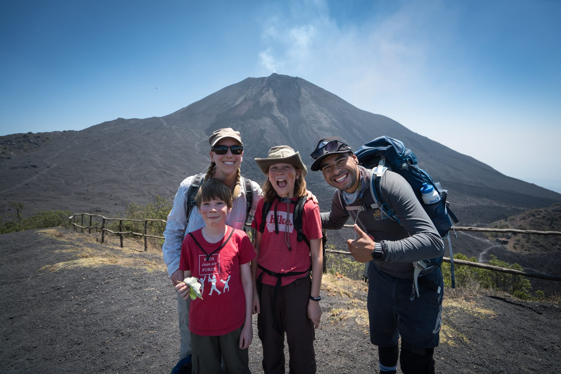 best guide for hiking an Antigua volcano