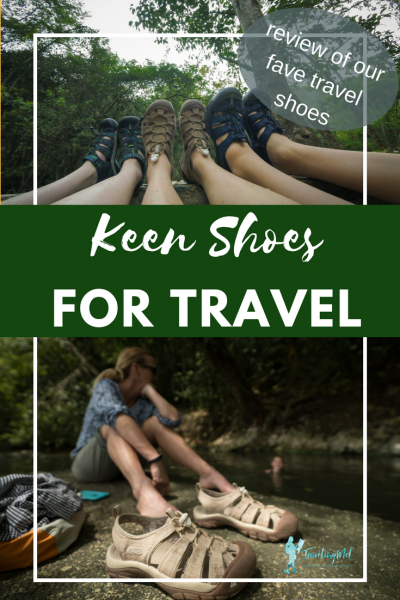 It's hard to know which shoes to pack when you are traveling light. After years of International travel, we've decided that at least one pair should be Keens. Here's my review of the Women's Newport Retro sandals, Men's Newport Eco sandals, and Big Kids' Chandler CNX sneakers.