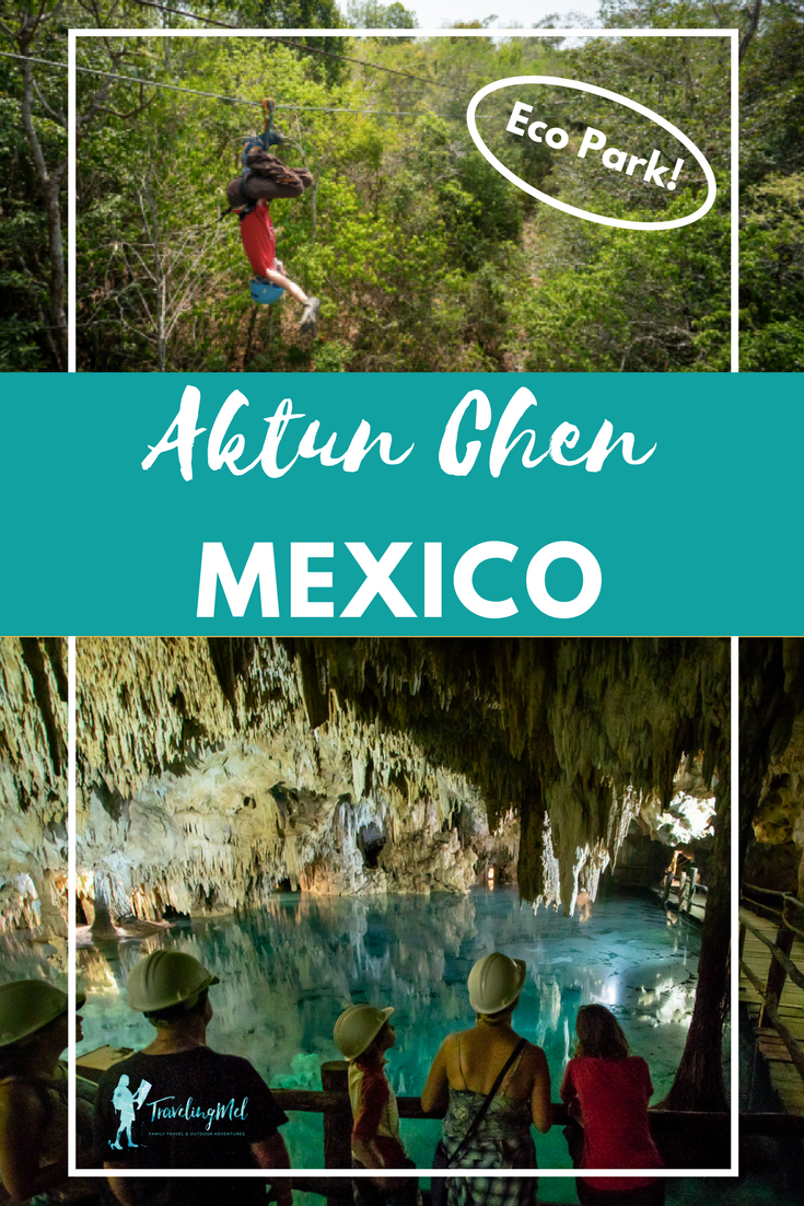 Aktun Chen is an eco park on the Riviera Maya near Tulum, Mexico. Our family visited the park and found fiver reasons why you should, too! Plus, all the info you need to plan your own trip to zip line through the tropical forest, explore a cave, and snorkel in a cenote.