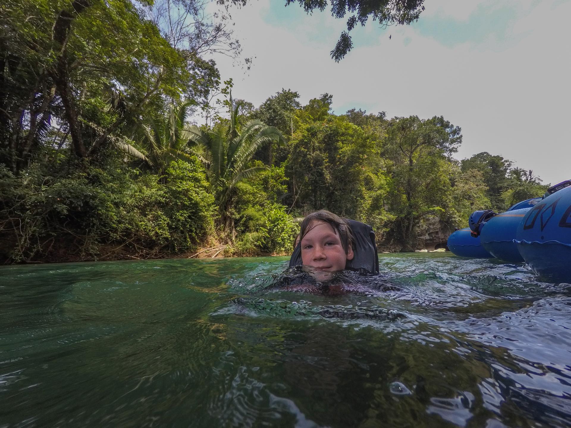 caves branch river belize