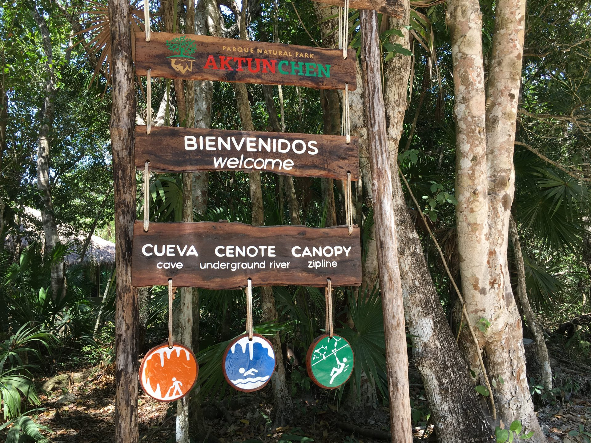 Where you can zip line, cave, and swim in a cenote near Tulum
