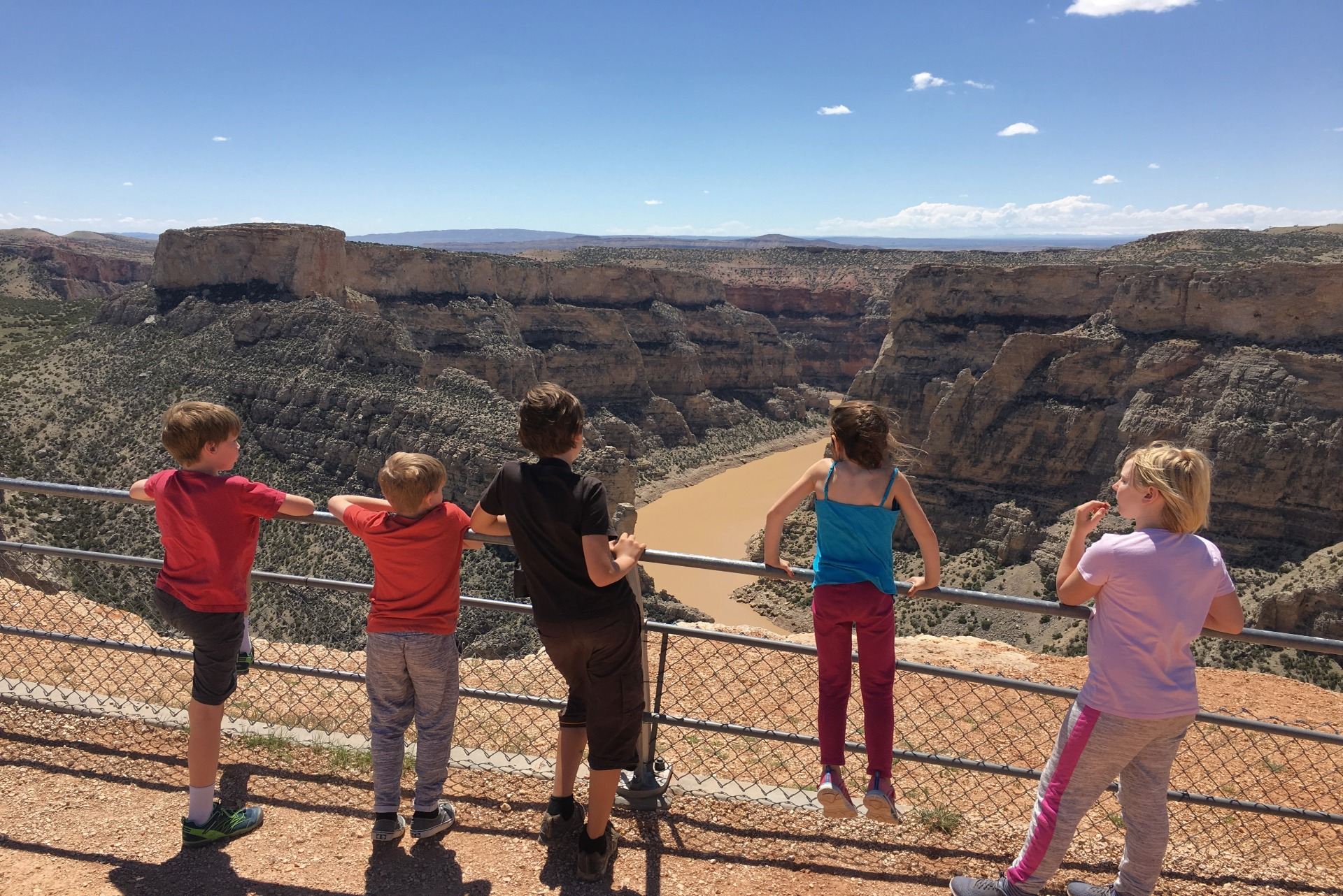 Devil Canyon Overlook at Bighorn Canyon National Recreation Area