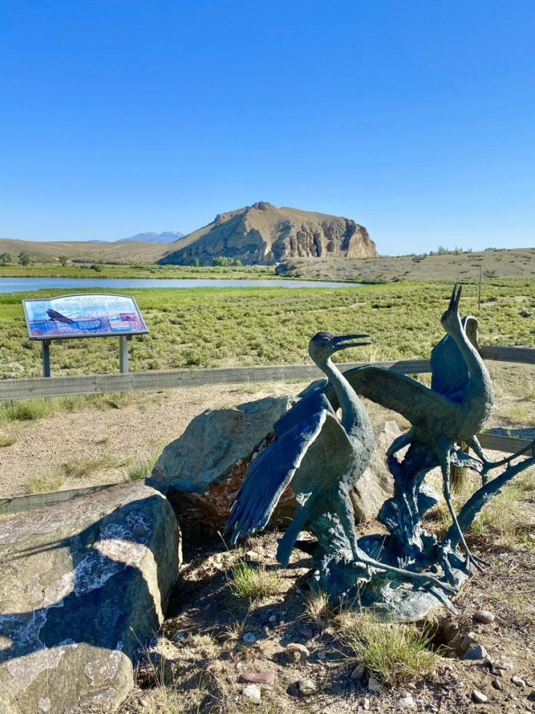 Beaverhead rock on Lewis and Clark Trail