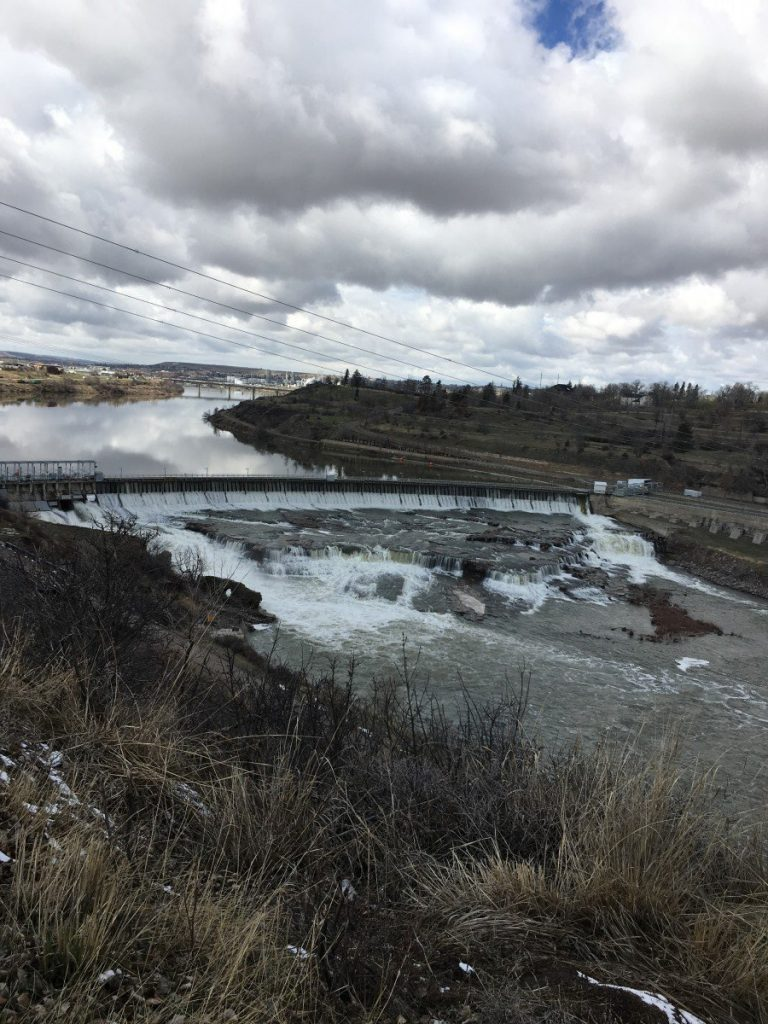 great falls of the missouri river