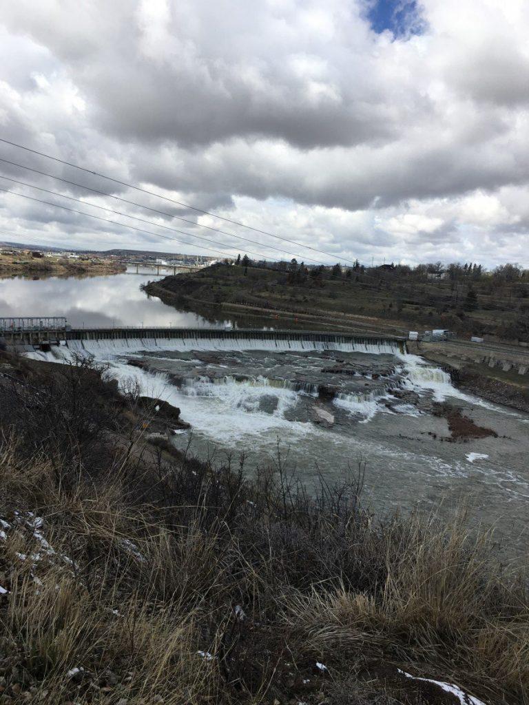great falls of the missouri river