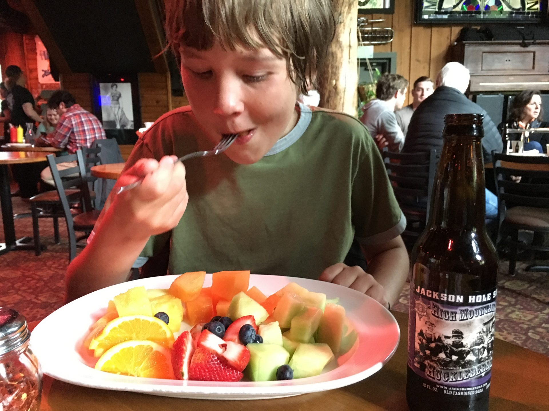 top things to do in Jackson Hole includes eating