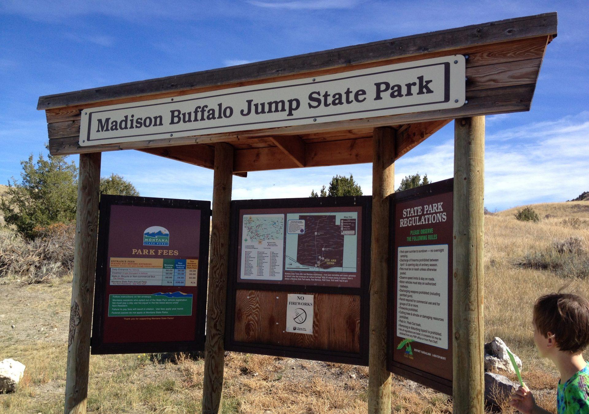 Madison Buffalo Jump State Park Montana