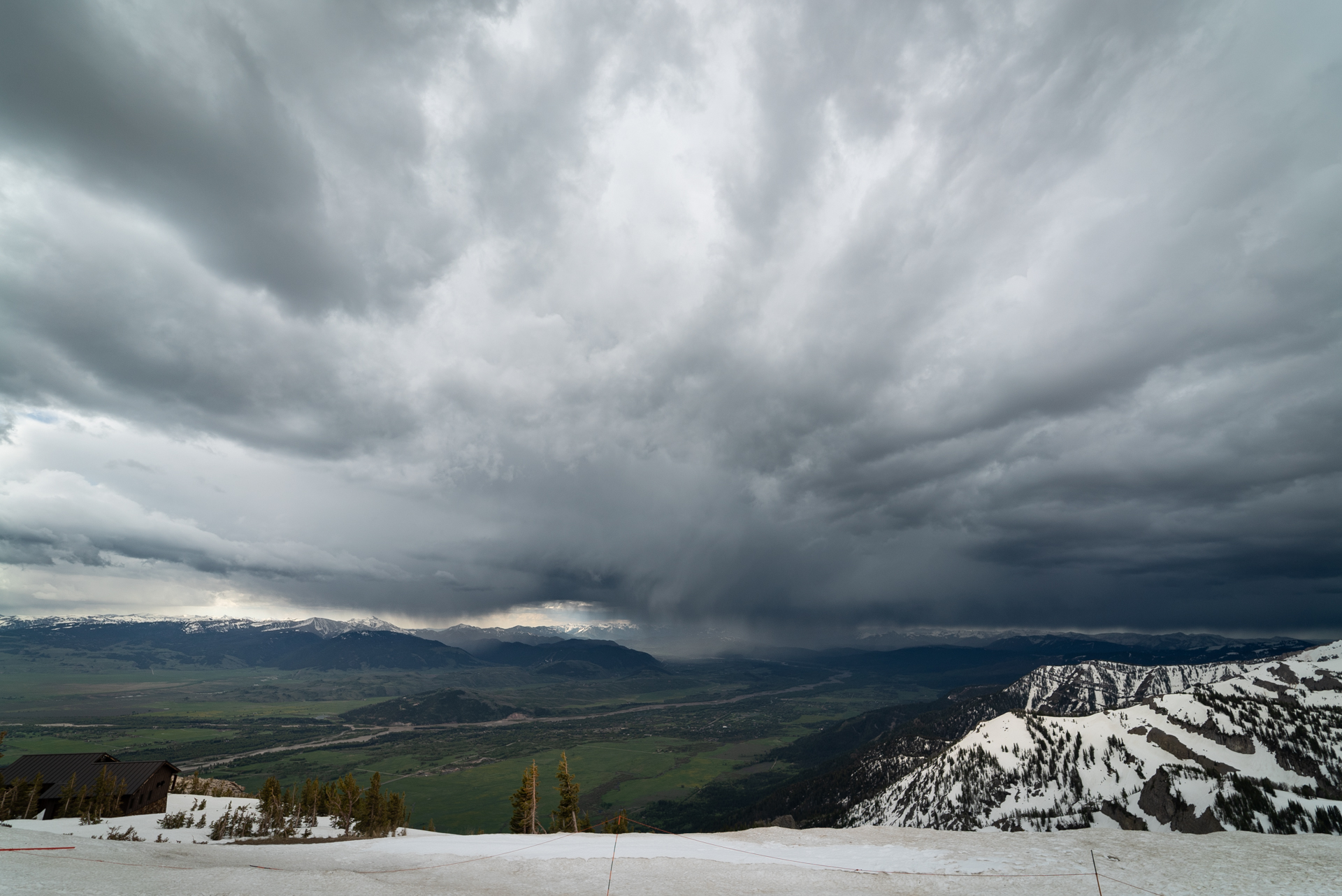The weather forecast for jackson hole wyoming is always changing