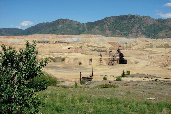 Butte mining equipment
