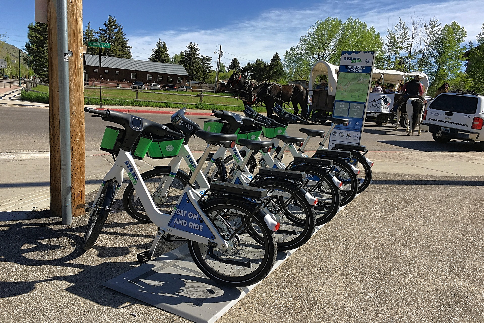 rent a bike to see Jackson Hole