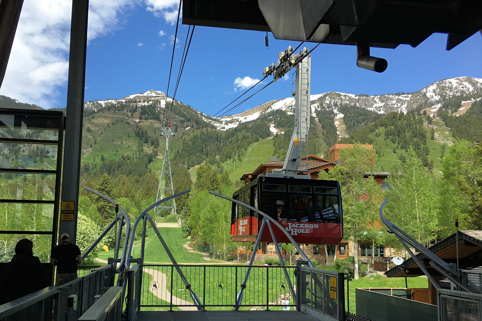 Jackson Hole Wyoming summer isn't complete without a ride up the Jackson Hole Resort tram