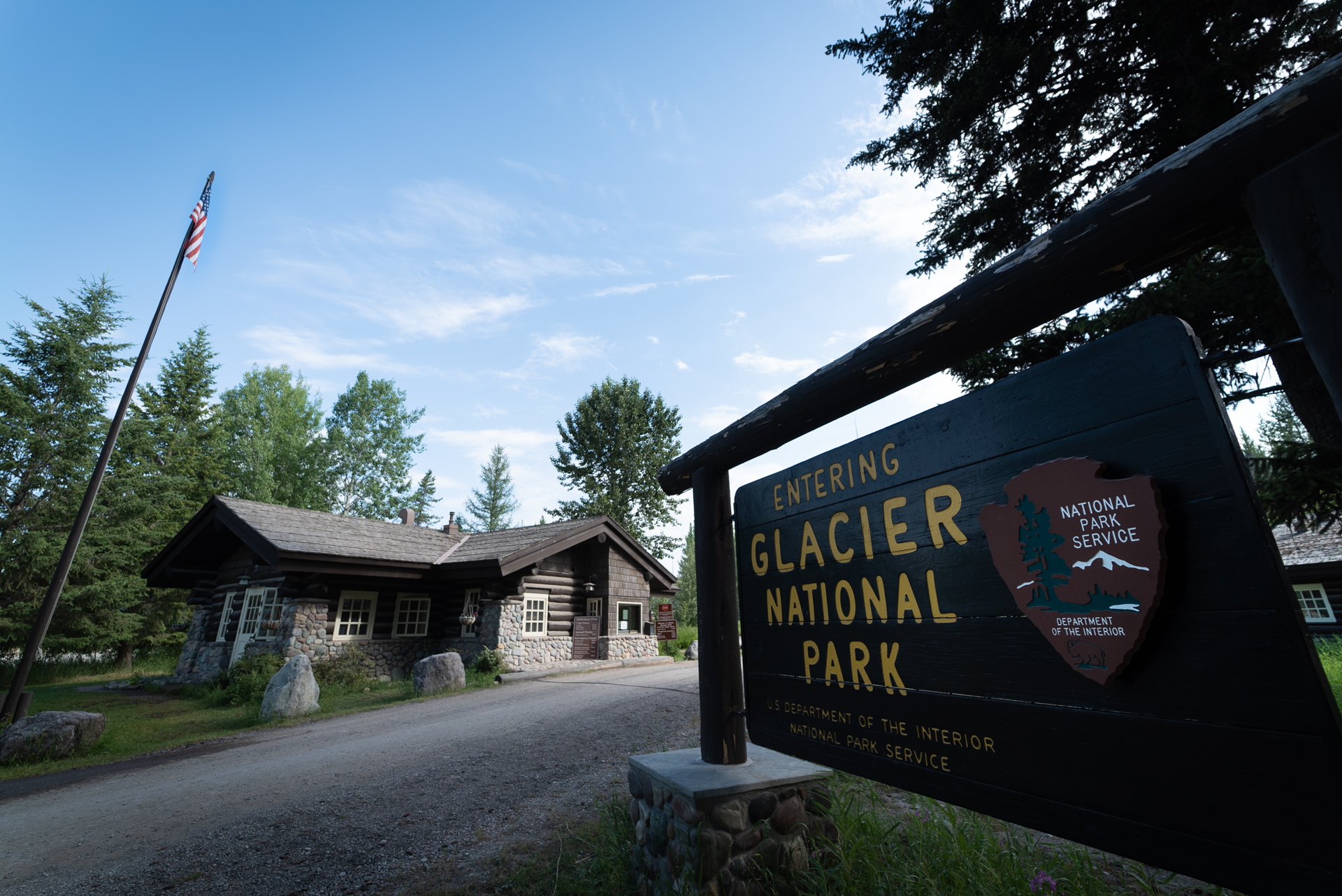 Glacier National Park Entrances Polebridge
