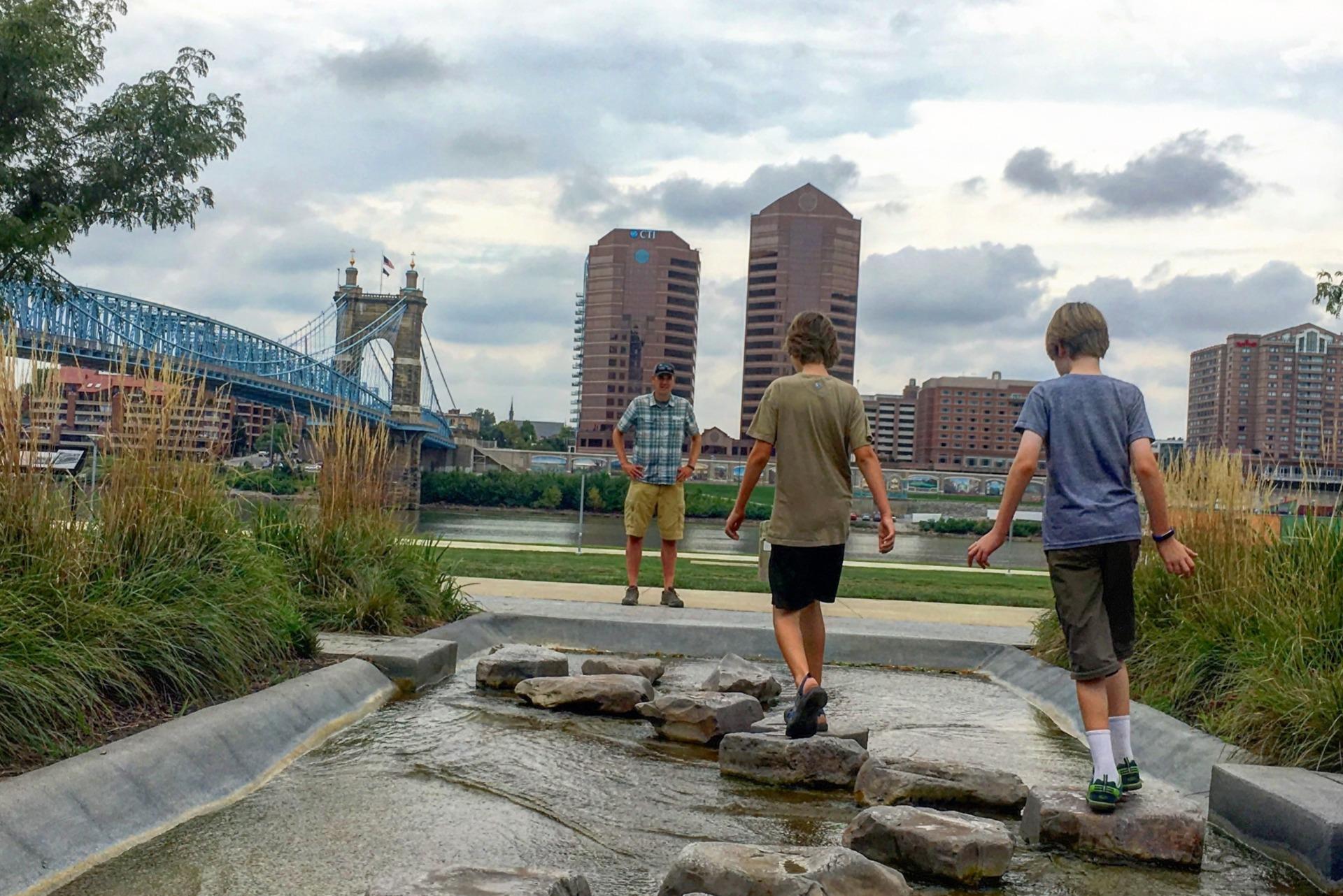 Cincinnati's Riverfront Park