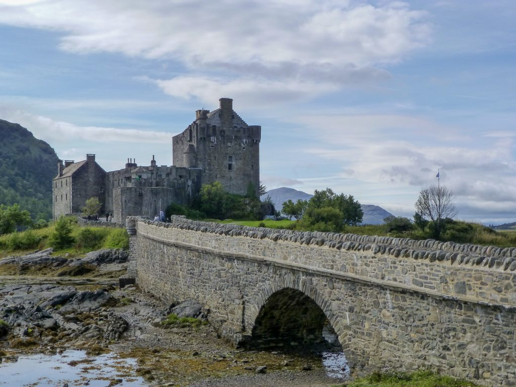 Eilean Donan Castle, Kyle of Lochalsh, Scotland Kristy from Lost in Landmarks