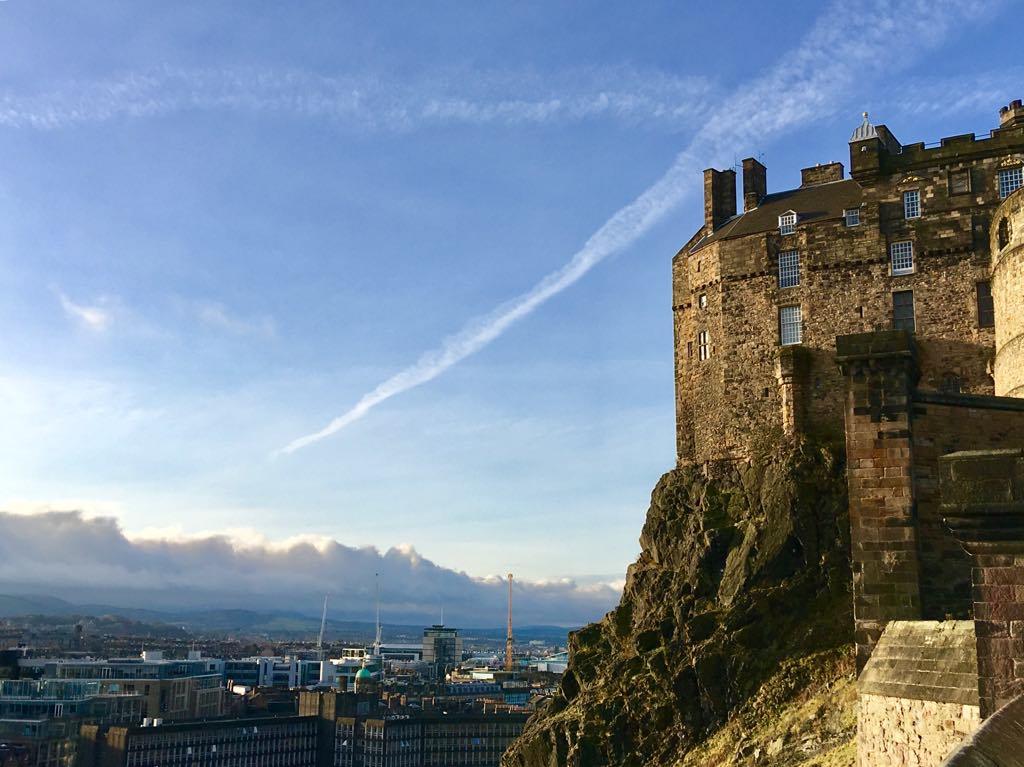 Edinburgh Castle, Edinburgh, Scotland Christa from Expedition Wildlife
