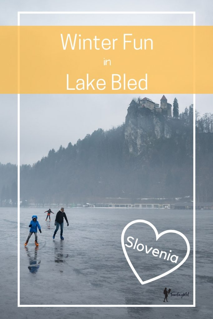 Here are the things to do in winter Lake Bled, Slovenia. Go ice skating, go snowshoeing, go skiing, and explore castles and don't forget to try some Bled Cream cake. #lakebled #winteractivities #slovenia #JulianAlps #Castle #Island  #Winter #Activities #traveleuropeLake Bled Winter Slovenia | Julian Alps | winter in Europe
