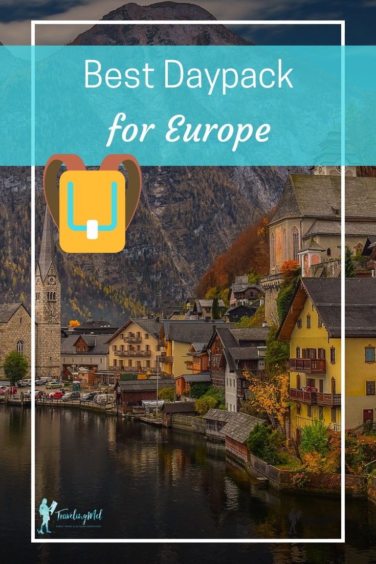 What's the best daypack for travel in Europe? We've reviewed to travel daypacks plus a travel purse. Best daypacks for travel #travel #daypack #Europe | best daypacks for Europe | best travel daypack reviews | packable daypacks | anti theft daypacks | urban daypacks