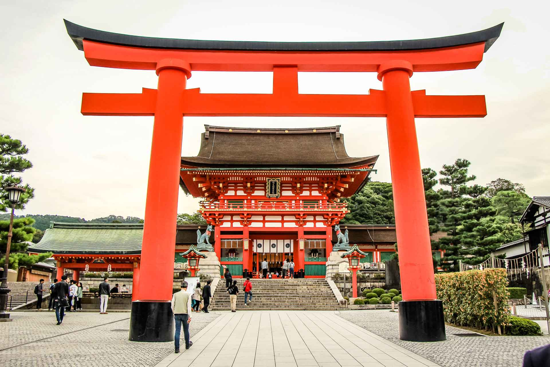 Fushimi Inari Kyoto Japan Family Can Travel