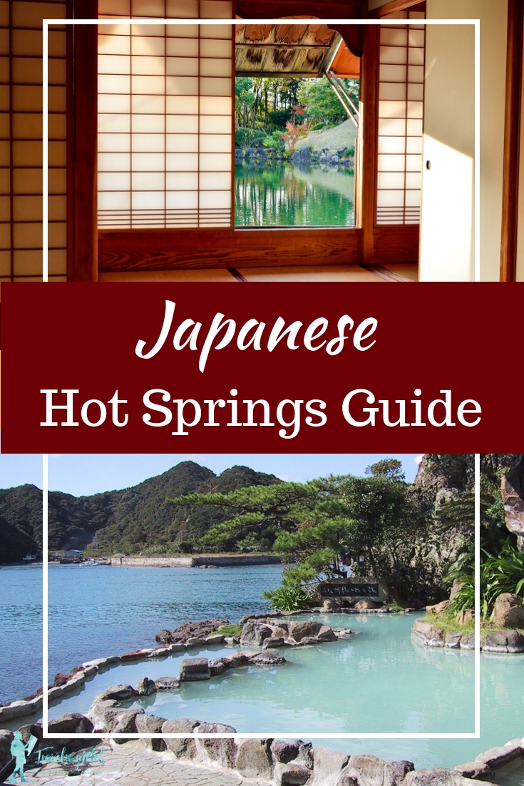 Japanese hot springs are a highlight of a trip to Japan. This guide will explain what's involved in a ryokan onsen (hot spring inn) visit and proper etiquette.  Ryokan Onsen Japan | Japanese Spa | Ryokan Stay | Outdoor Hot Springs | East Asia | Traditional Japan | Camping Japan | Travel Japan #Japan #Onsen #EastAsia #hotsprings