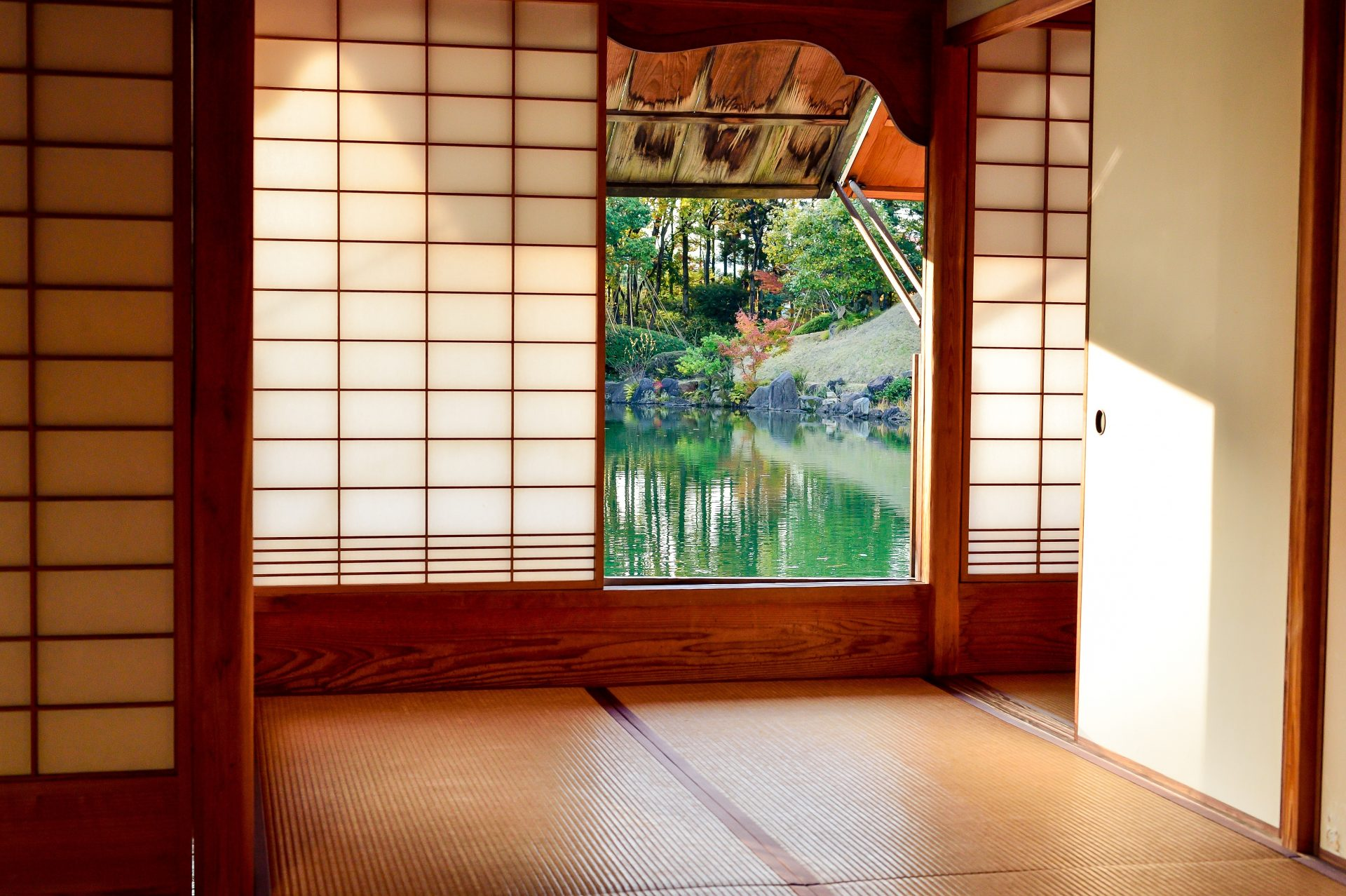 Japanese ryokan room