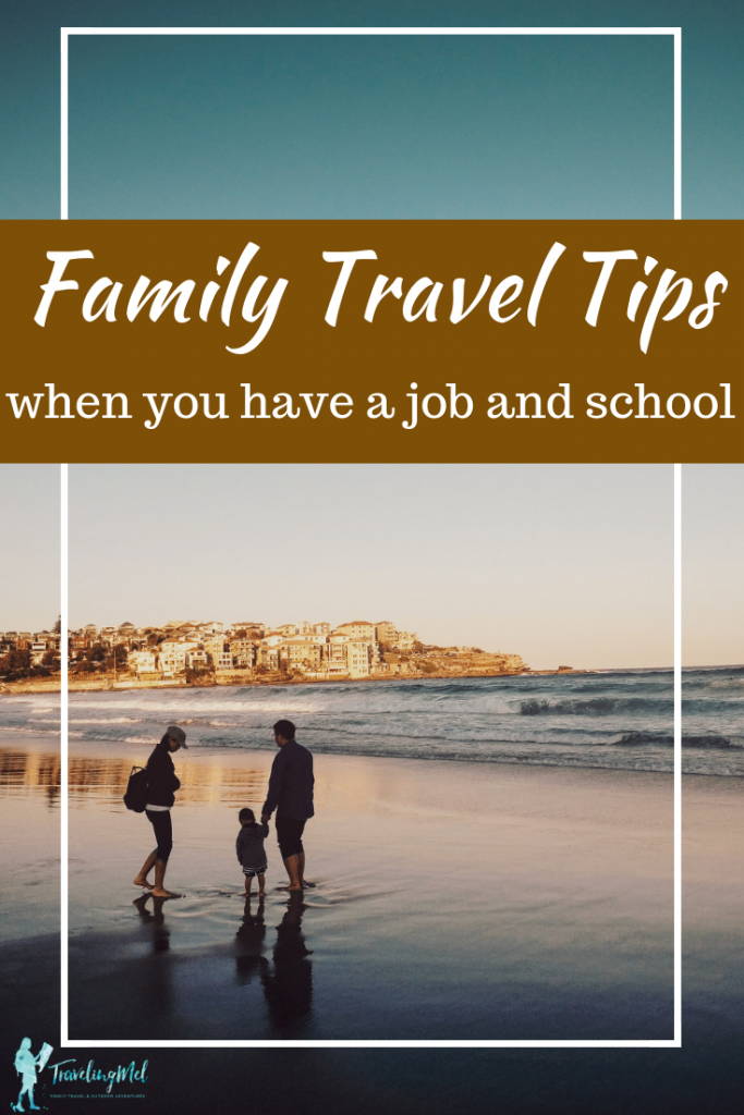Tips for planning family travel with a full-time job and kids in school. Finding ways to travel afforabley and deeply with a regular life.  Family travel planning | travel tips | cheap travel | #travel