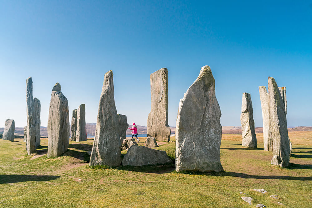 Standing stones from Outlander