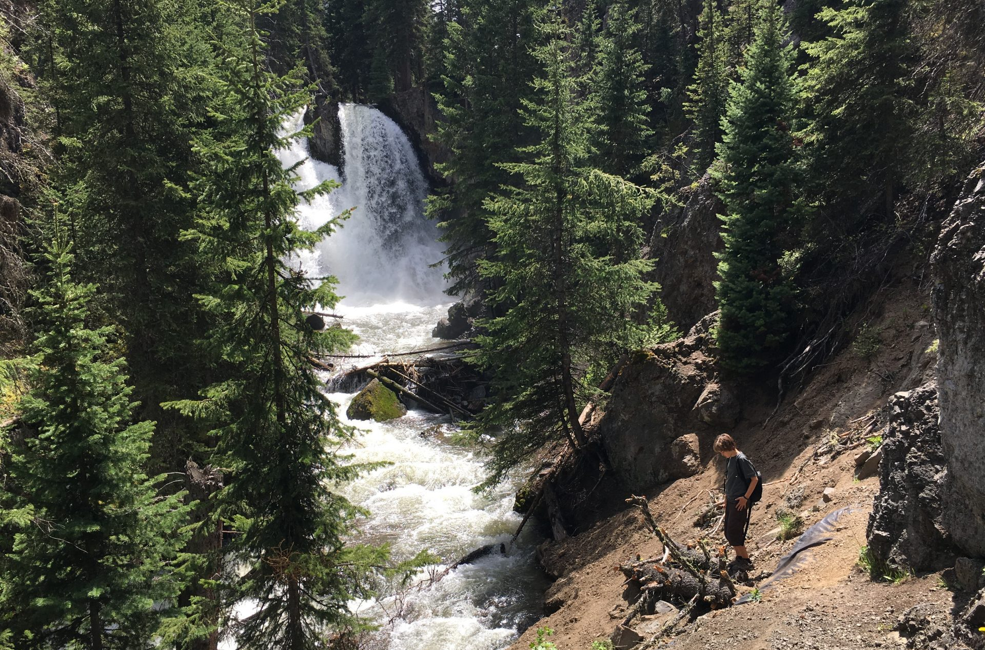 Favorite Montana hikes Passage Creek Falls