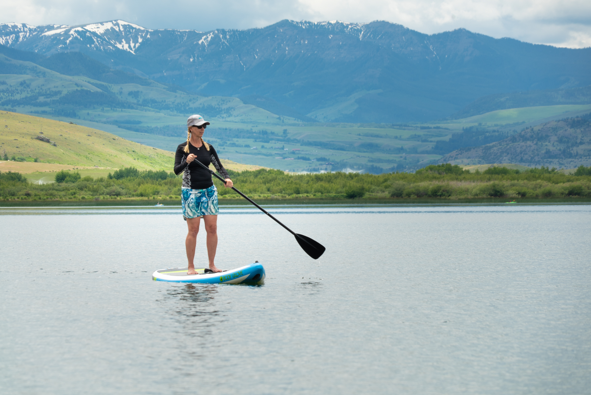 SUP on Dailely Lake Montana