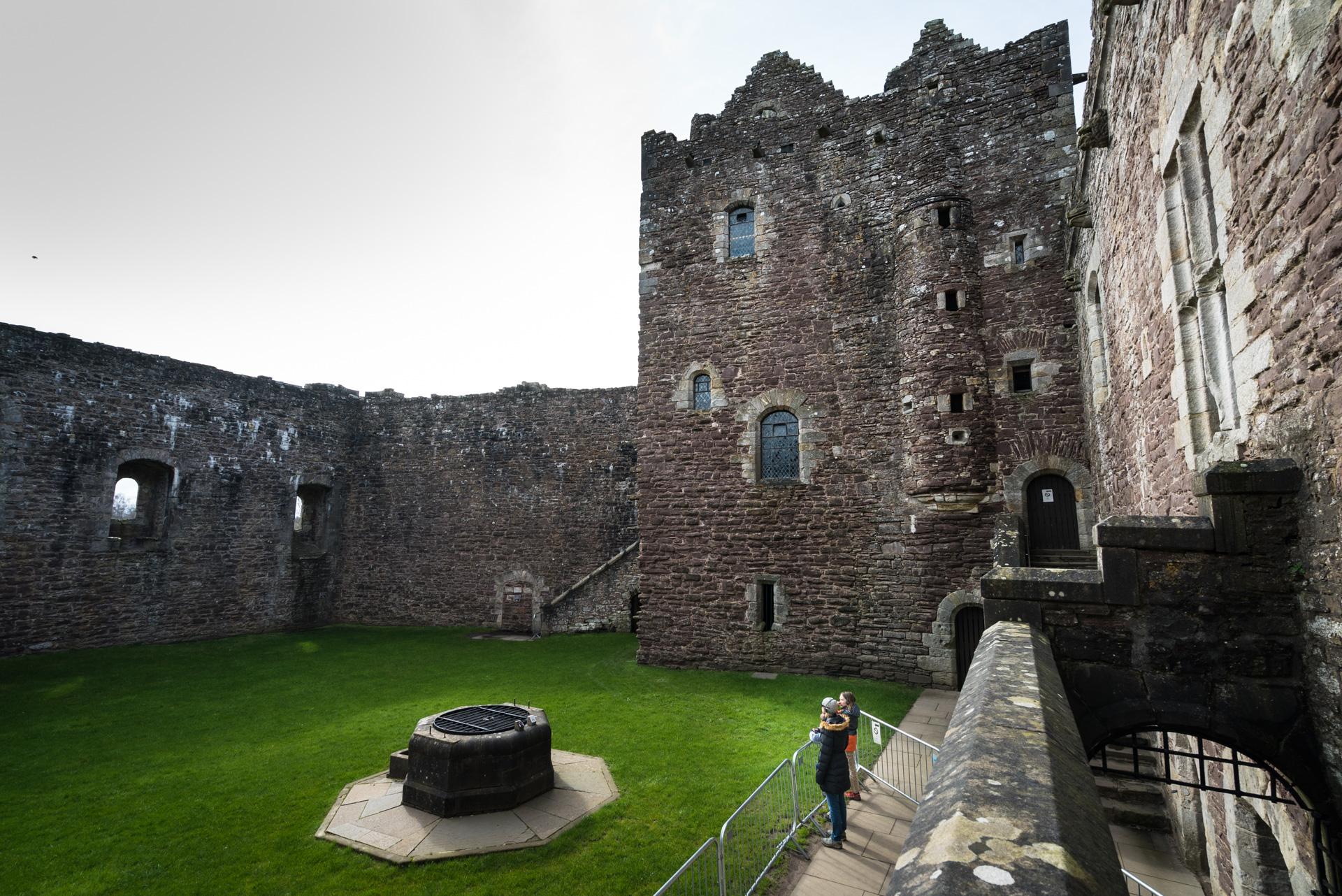 Doune Castle - Outlander locations in Scotland