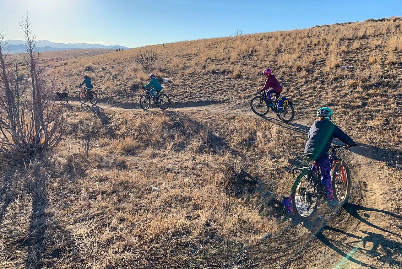 Copper City bike trails, Montana