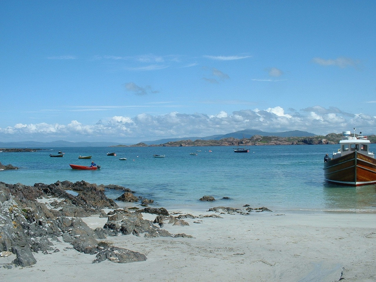 Iona Isle of Mull. Books set in the Hebrides Scotland