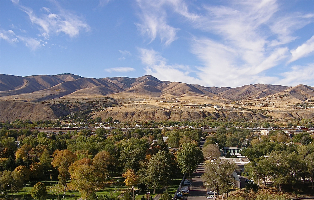 View of Pocatello Idaho
