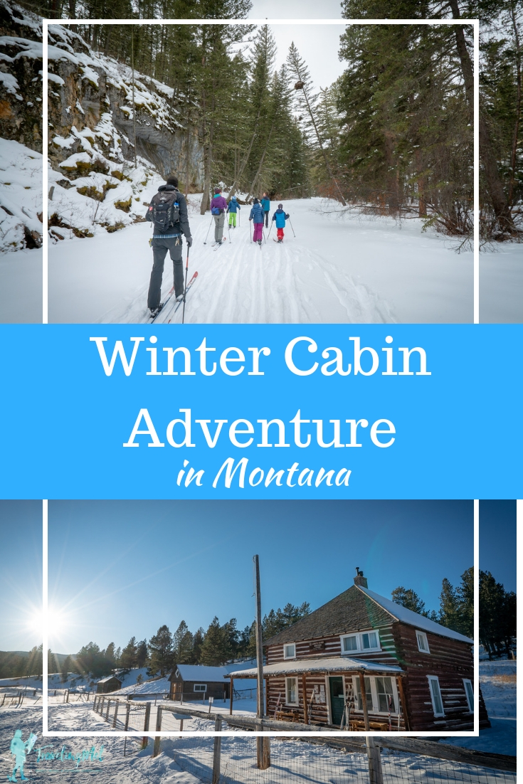 Explore the Middle Fork Judith River Wilderness Study Area while staying at the Judith Guard Station Forest Service Cabin.  #crosscountryski #Montana #cabin |Montana cabin rental | Wilderness Study Area | Montana vacation | Winter getaway