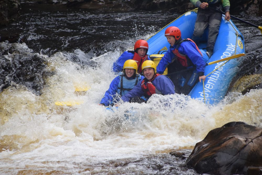 things to do in Scotland - white water rafting UK