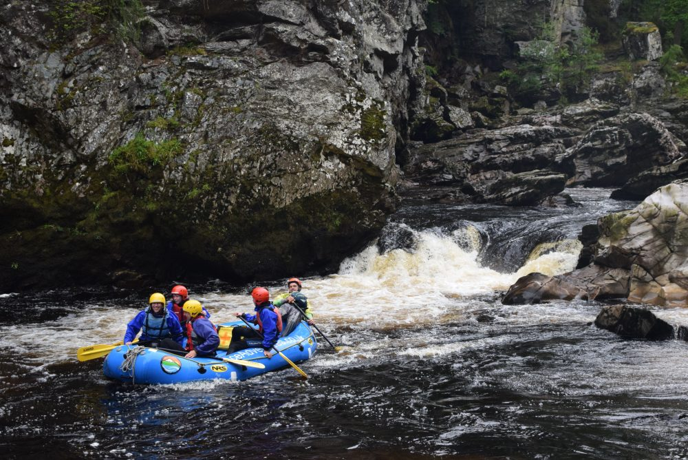 Scotland vacations should include rafting
