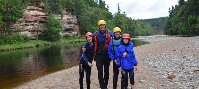 White Water Rafting in Scotland With Ace Adventures