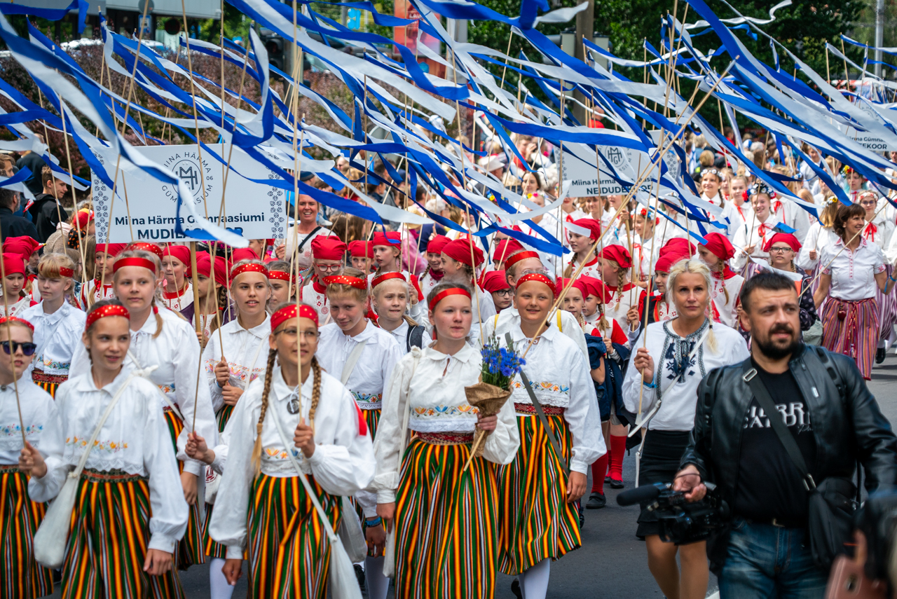 Song Festival Parade in Tallinn