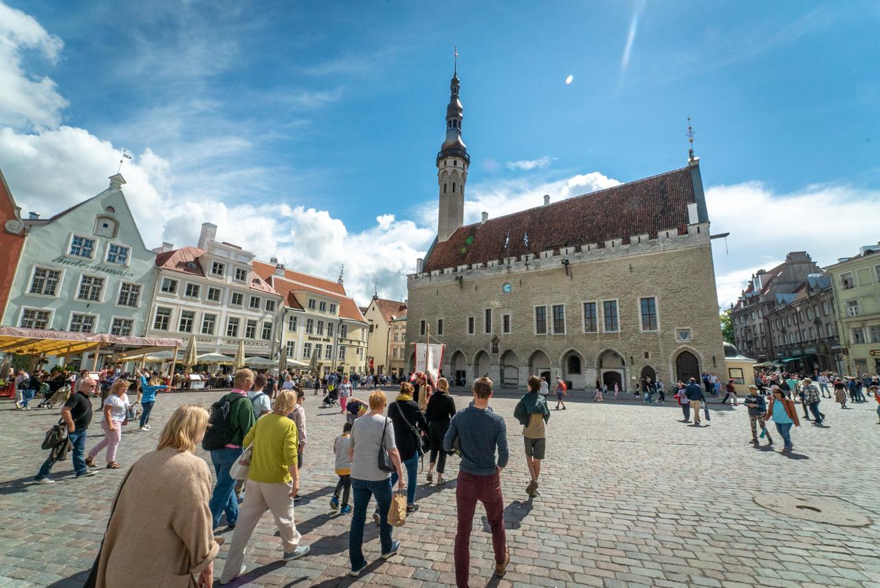 Town Square Old Town Tallinn