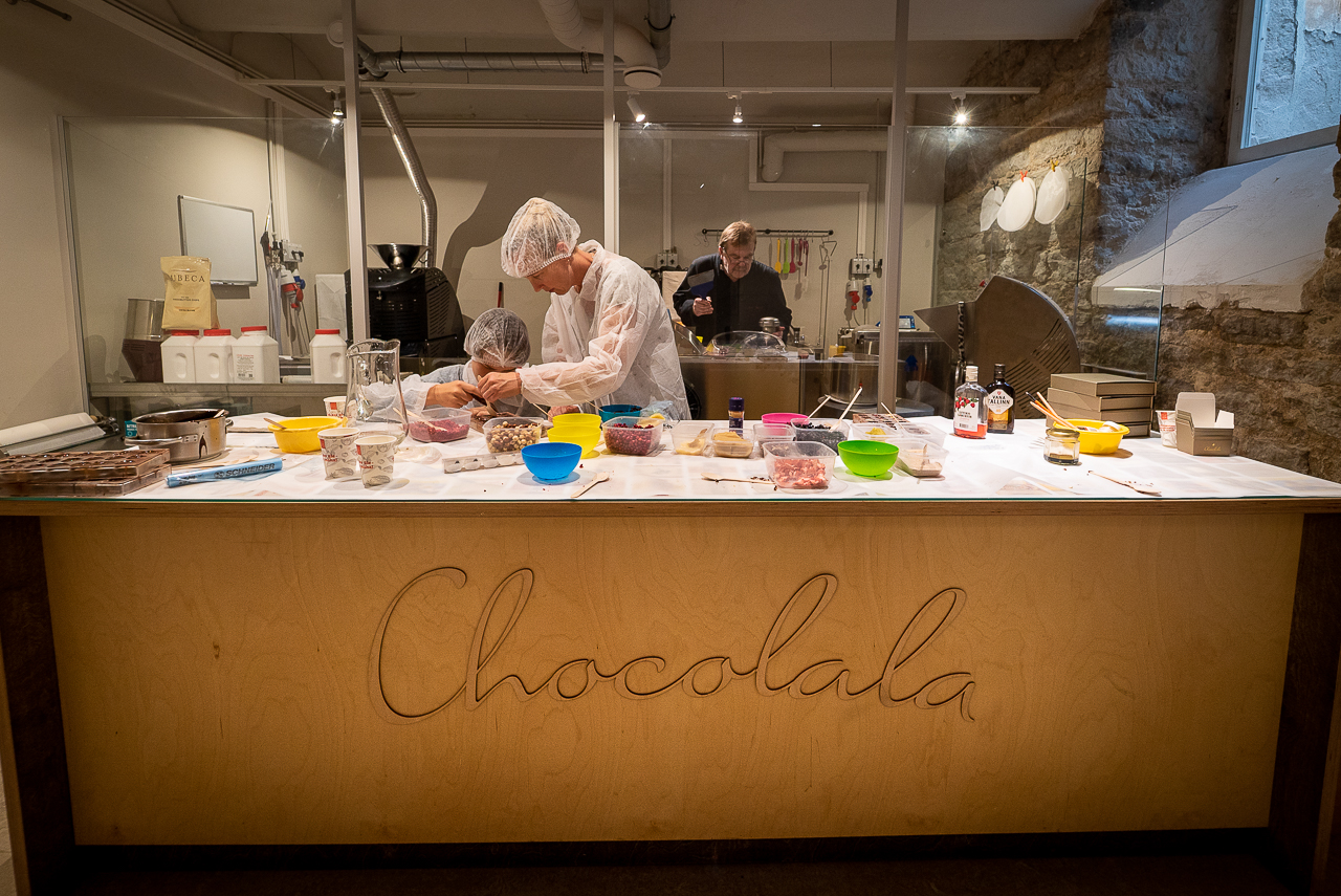 make chocolate in Tallinn