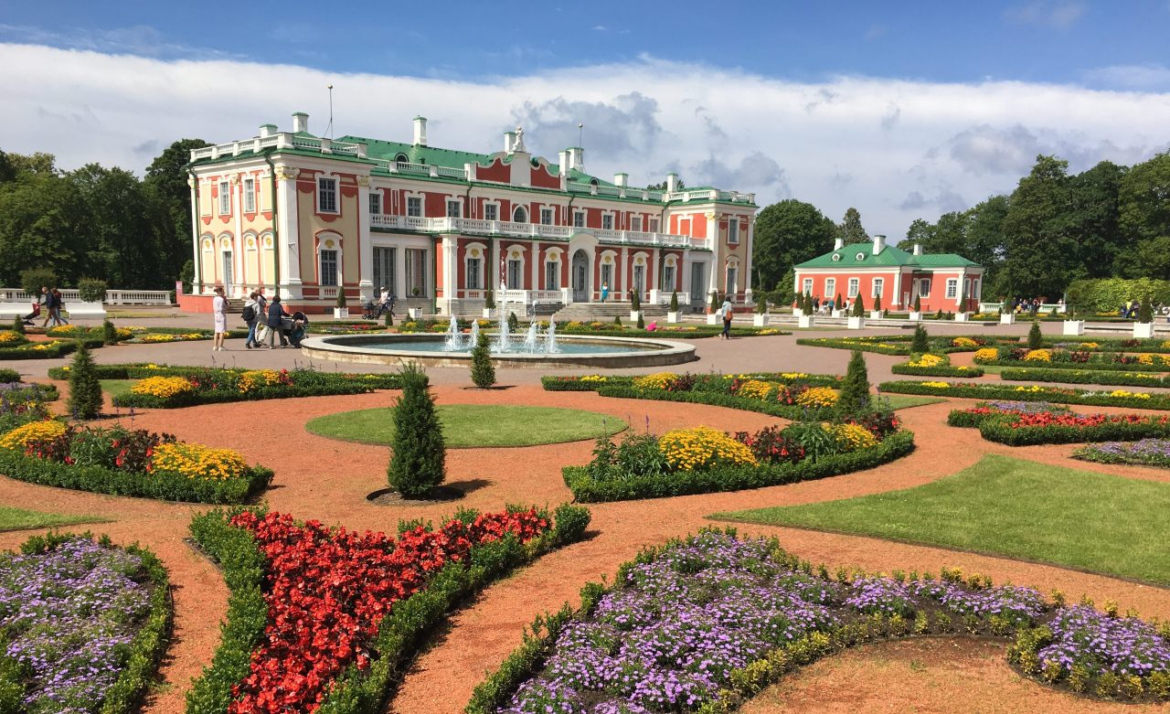 Kadriorg Palace and gardens in Tallinn